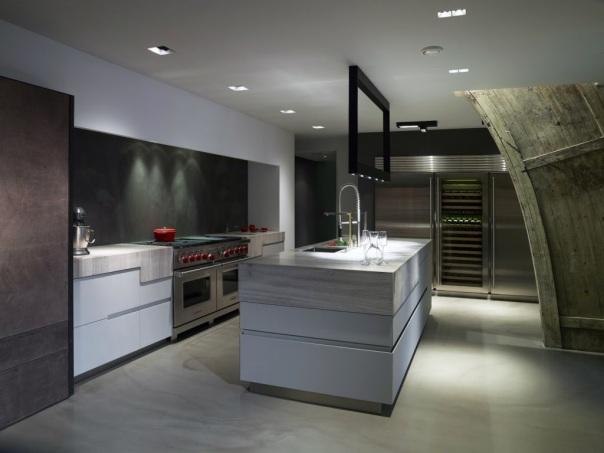VERBAU keukenwand beton-ciré. Kleur Anthracite.