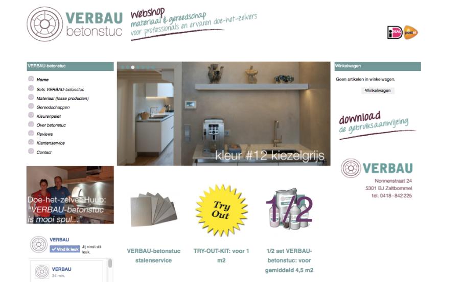 VERBAUwebshop.nl