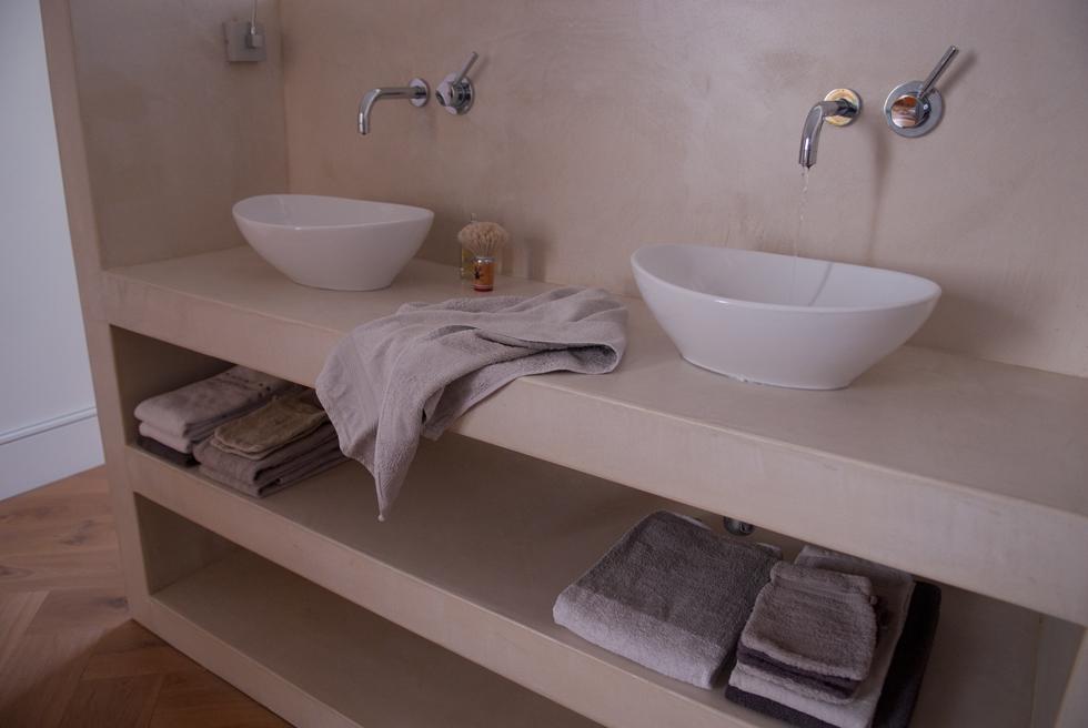 betonnen wastafel maken: do not iron. betonnen wastafels, Badkamer