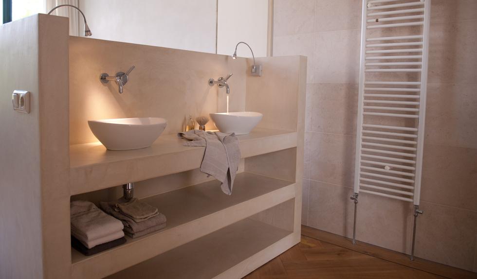 Werkblad Keuken Betonlook : Badkamermeubel VERBAU-betonstuc #22 l?ss-betonstuc#22loss_web
