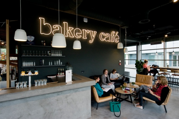 Bakery Cafe Maastricht University VERBAU-betonstuc