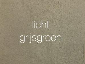 VERBAU-betonstuc, kleur lichtgrijsgroen